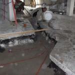 Etablering af kloak for nyt toilet i Herlev