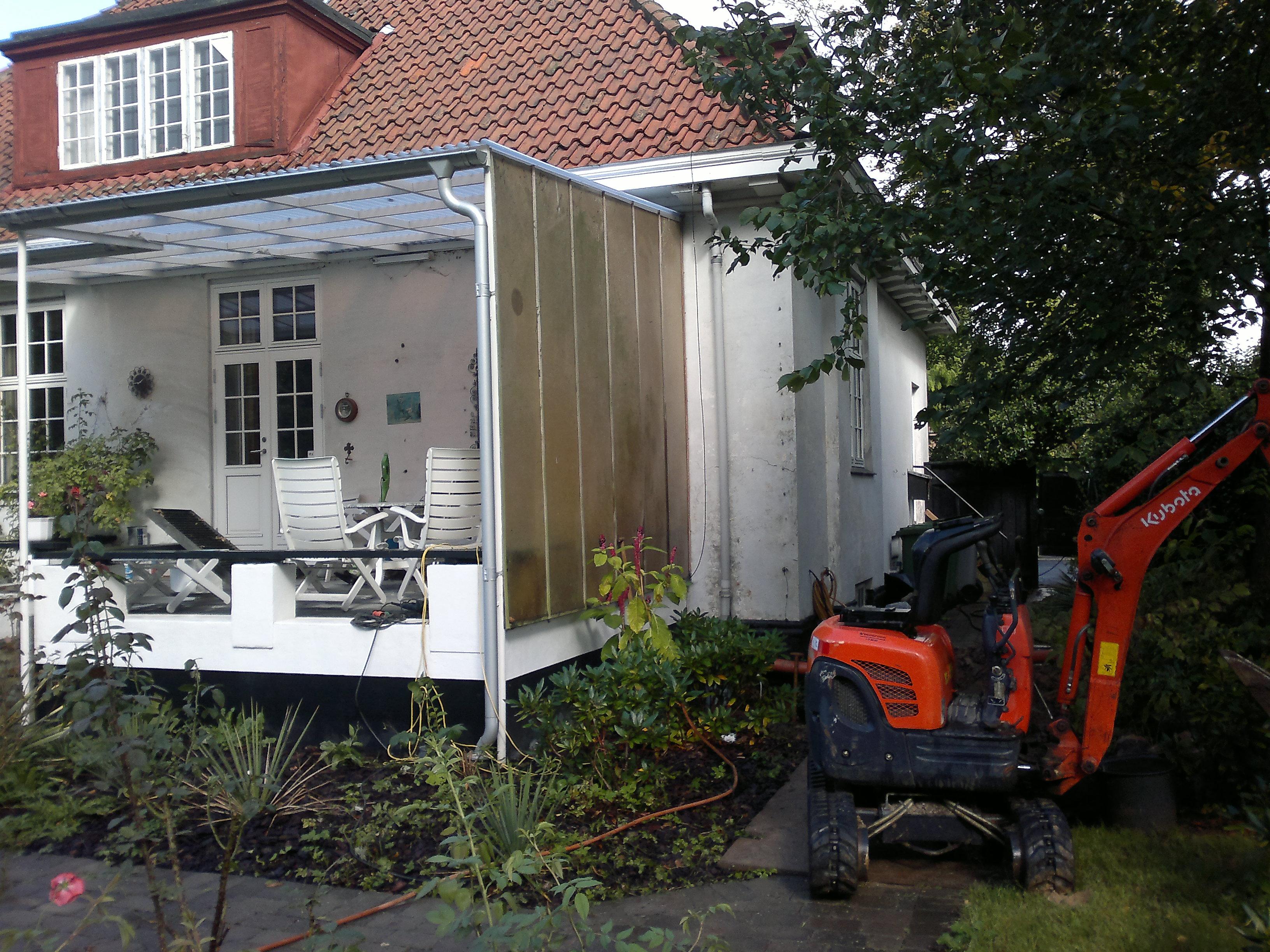 Hellerup. Renovering af kloak på villa