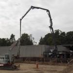 Støbning af 615 m2 lagerbygning, samt 3 stk læsseramper i Espergærde