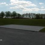 Indbygning af p-pladser i skrænt, Ballerup
