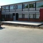 Støbning af tilbygning til Værløse Bytorv